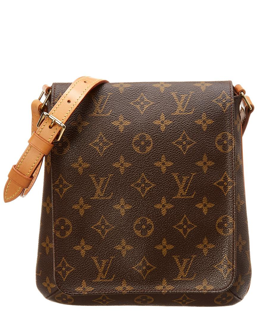 Lyst - Louis Vuitton Monogram Canvas Musette Salsa in Brown - Save 8.0% e473494a7bbb7