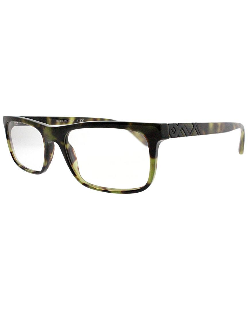 643c11a64f Lyst - Burberry Unisex Rectangle 53mm Optical Frames in Black