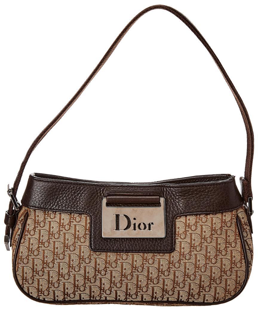 Dior - Brown Trotter Canvas Shoulder Bag - Lyst. View fullscreen b9295df624a52