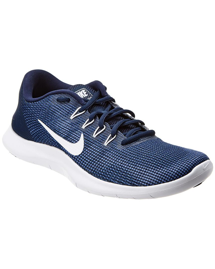 1afc0a77f8701 Nike Flex Rn 2018 Mesh Sneaker in Blue for Men - Save ...