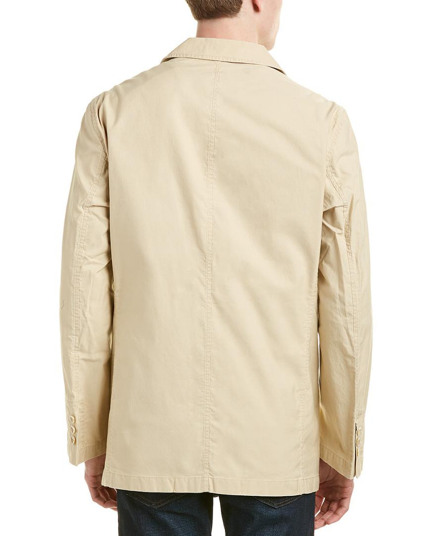 RAFFI Cotton Blazer in Beige (Natural) for Men