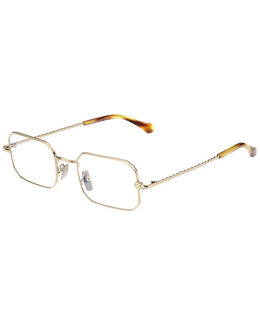 c8e6397752 Brioni Men s Br0021o 50mm Optical Frames in Metallic for Men - Lyst