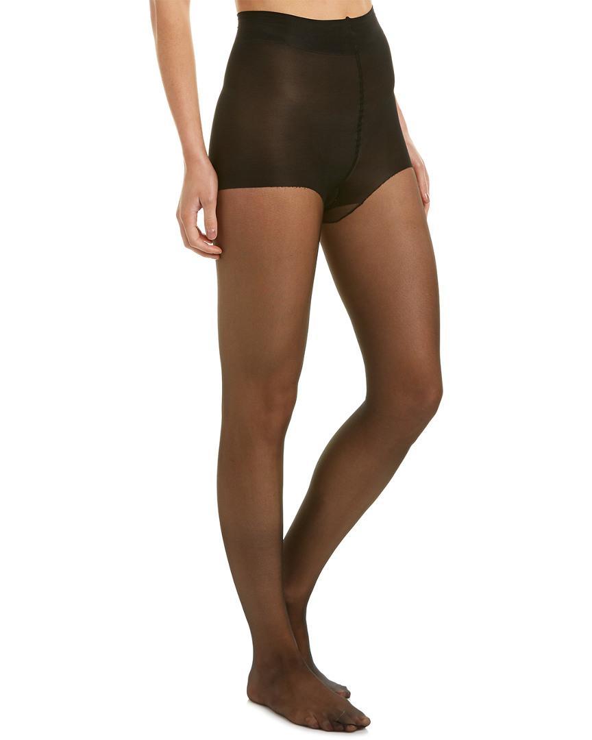 90e63f1ea Natori Silky Sheer Ct Pantyhose in Black - Lyst