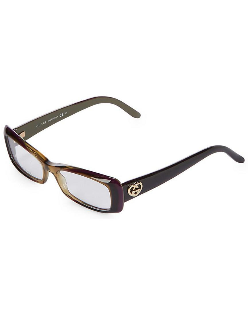 099aad9026 Gucci Gg3516 Mm Optical Frames in Brown - Lyst