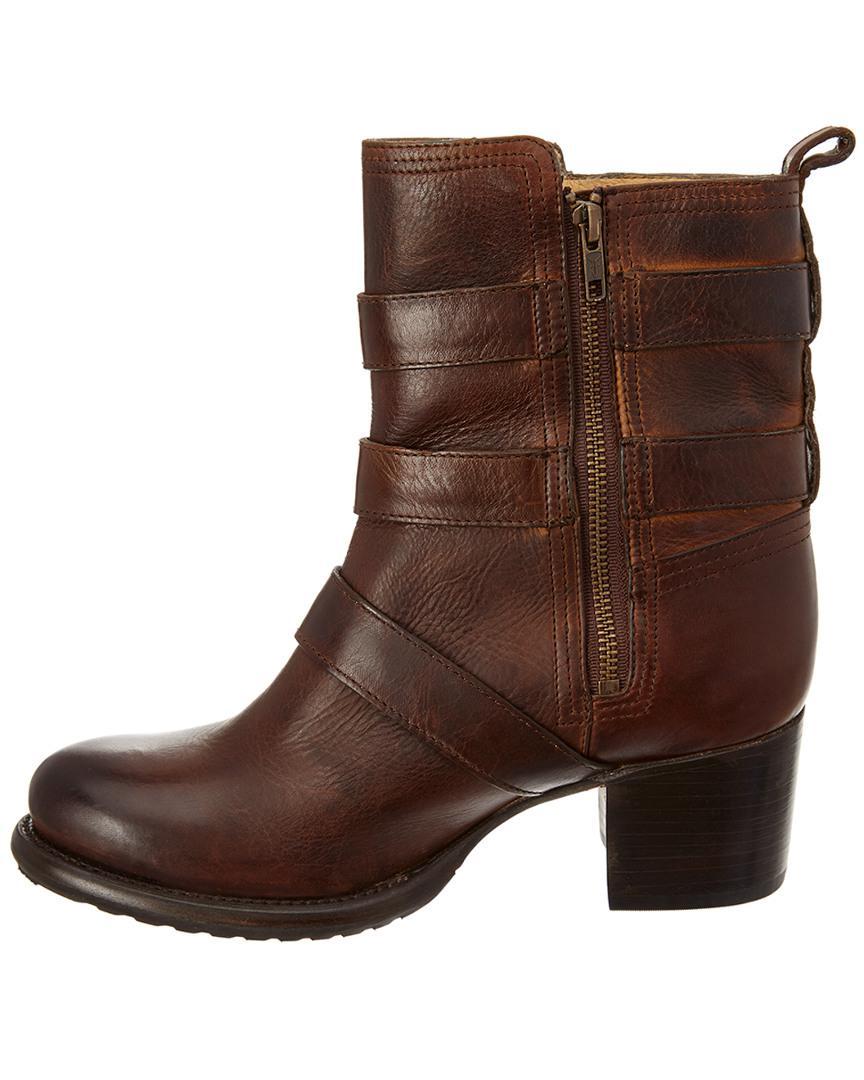 5150c3cfa4ed03 Lyst - Frye Vera Bootie in Brown - Save 15.78947368421052%