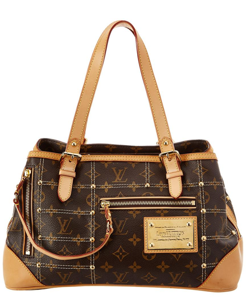2d1ff4f35215 Lyst - Louis Vuitton Limited Edition Monogram Canvas Riveting in Brown