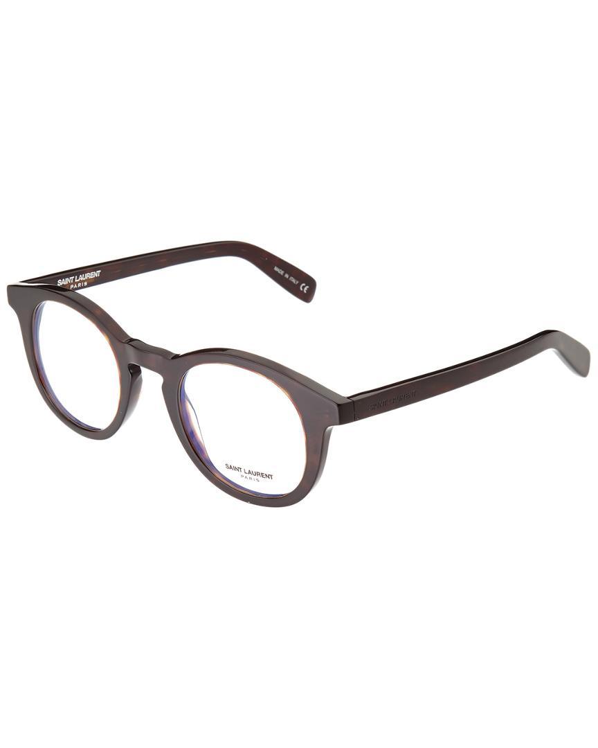 668a1c4c52 Saint Laurent - Multicolor Unisex Sl145-30000826002 46mm Optical Frames for  Men - Lyst. View fullscreen