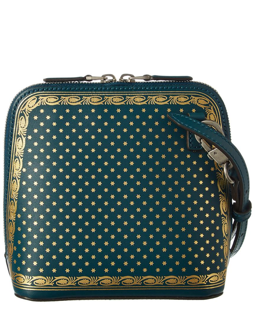 4b53759ee44 Lyst - Gucci Guccy Mini Leather Shoulder Bag in Blue - Save 27%