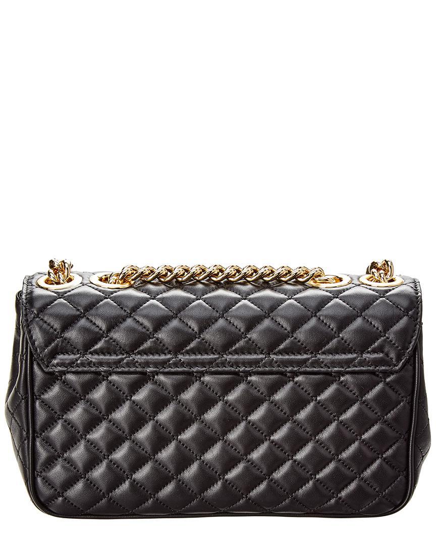 fbccfe7d8491 Lyst - Dolce   Gabbana Dg Millennials Leather Shoulder Bag in Black ...