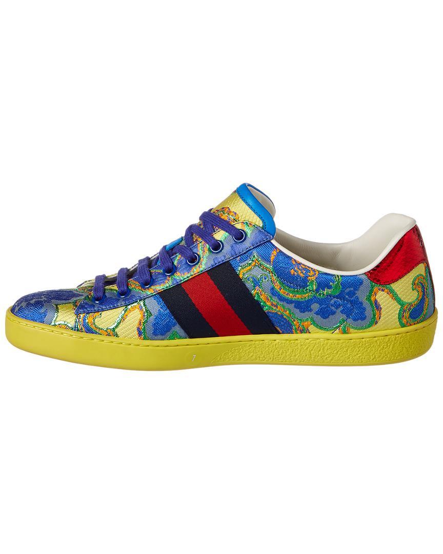Low Low Sneaker Floral Jacquard Floral Sneaker Jacquard Top Top drCBWoex