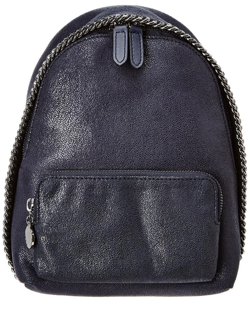 327e32bfe0a1 Stella Mccartney Falabella Mini Backpack in Blue - Lyst
