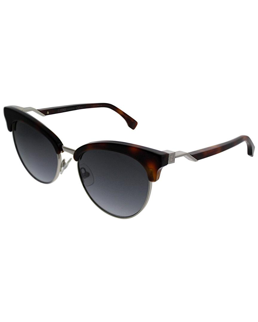 f002bdcaedeb Lyst - Fendi Ff0229 s 55mm Sunglasses in Black