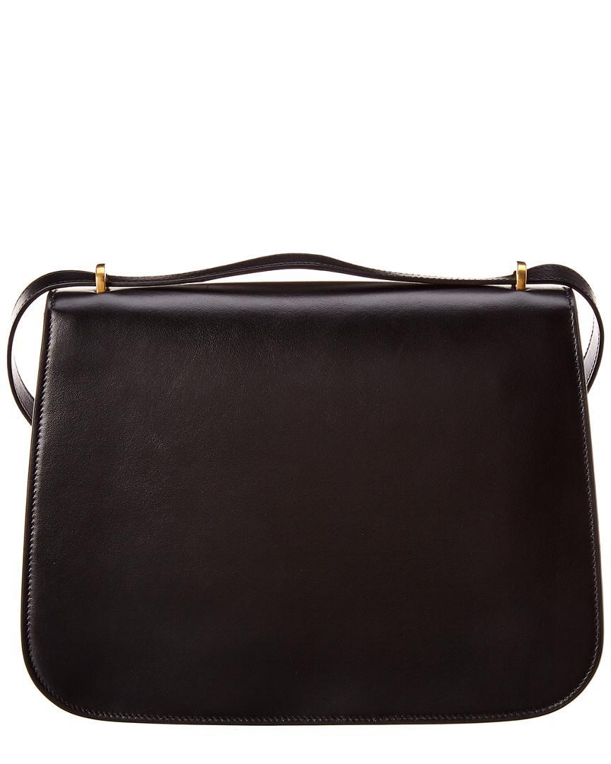 d626c097a0 Lyst - Saint Laurent Medium Spontini Leather Satchel in Black