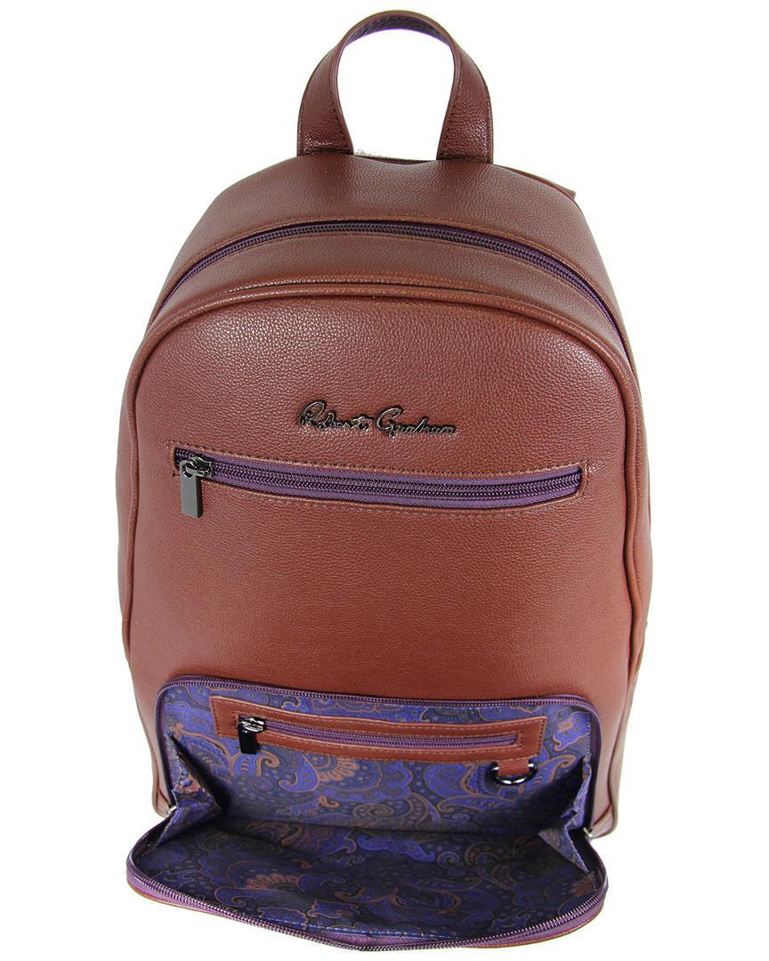 Robert Graham Men/'s Leather Mariel Classic Backpack