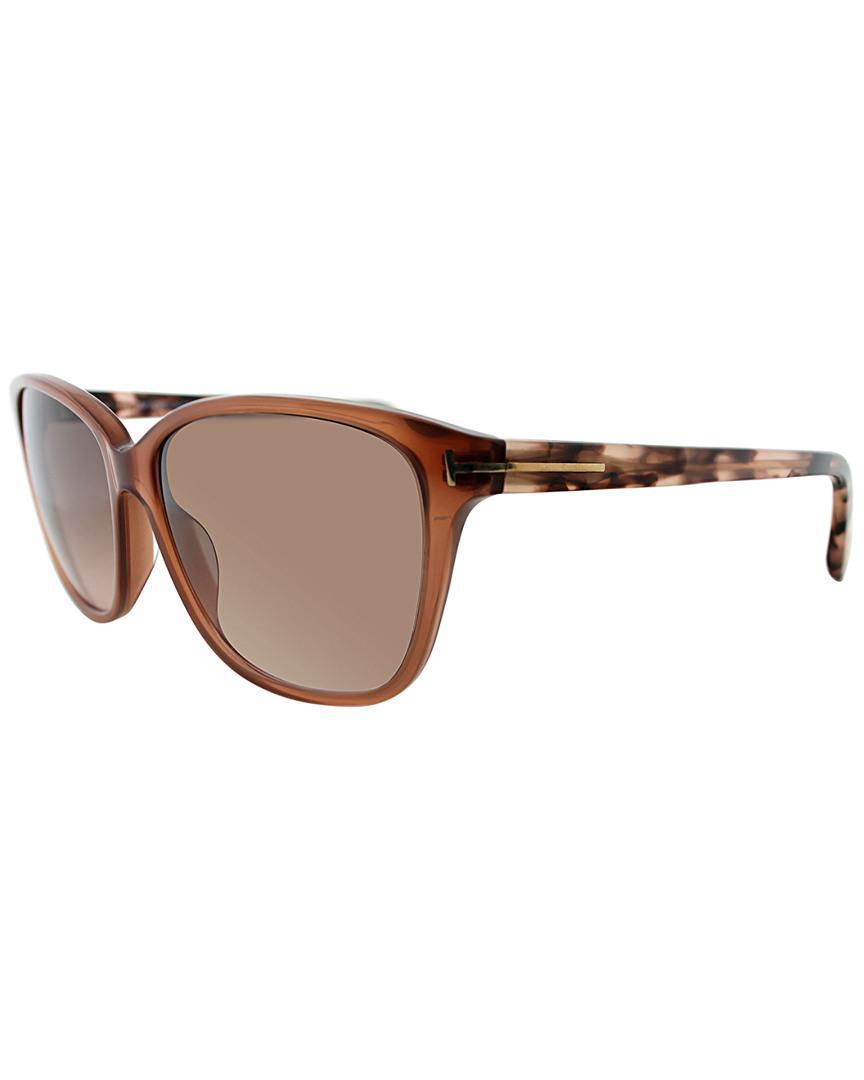 fccd815c5acba Lyst - Tom Ford Dana 59mm Sunglasses in Brown