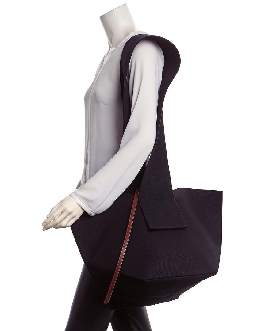 653a8d616aad Lyst - Céline Céline Medium Canvas Belt Bag in Black