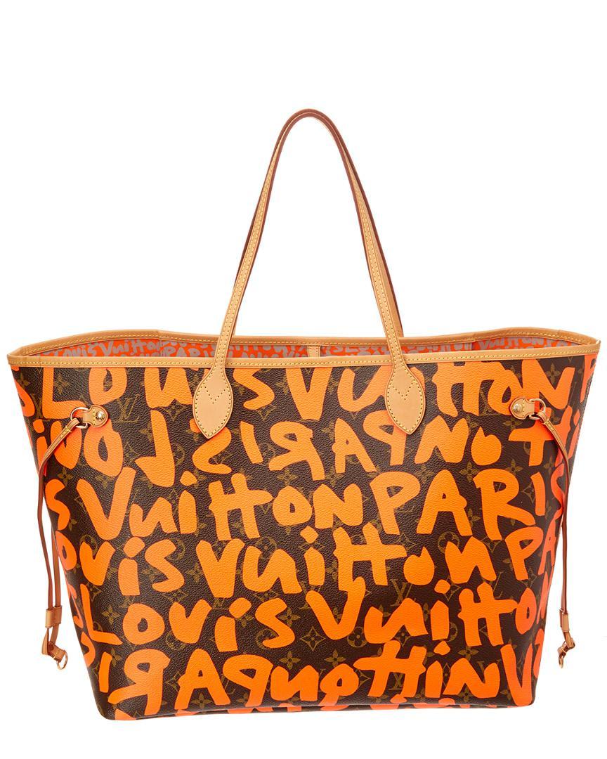 744afdd91c6c Lyst - Louis Vuitton Limited Edition Stephen Sprouse Orange Graffiti ...