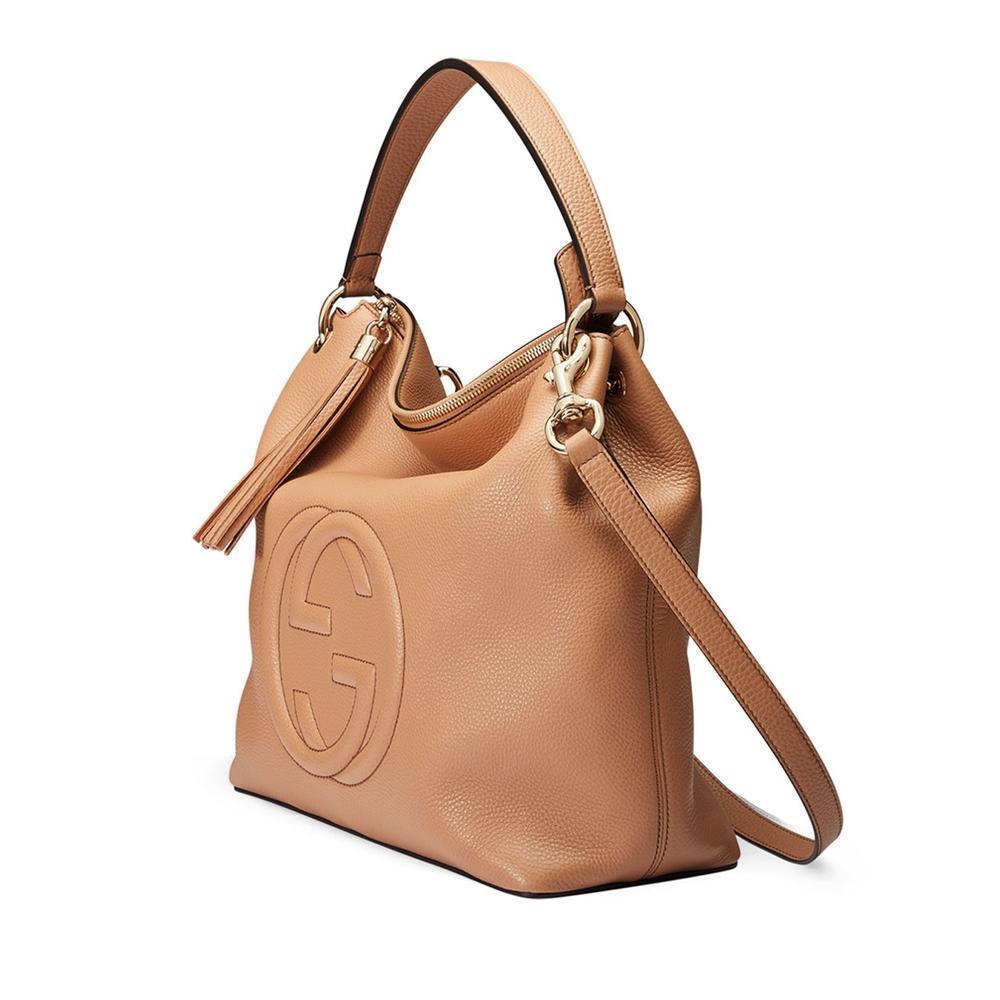 5dd18f62470 Gucci - Brown Soho Large Leather Cellarius Bag