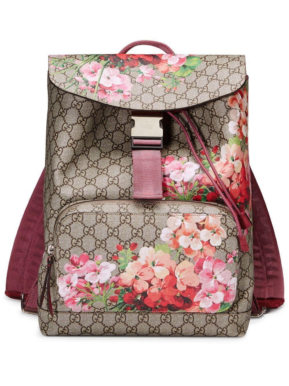 5e55aee6acb Gucci GG Blooms Backpack - Save 31% - Lyst