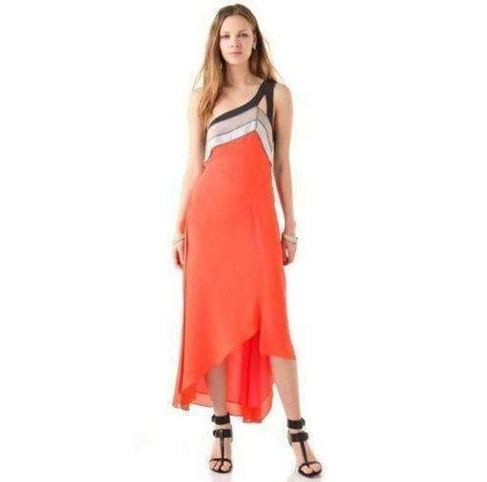 ced7daf54d BCBGMAXAZRIA - Multicolor Runway Bright Ambrosia Kaia Color Blocked Dress -  Lyst. View fullscreen