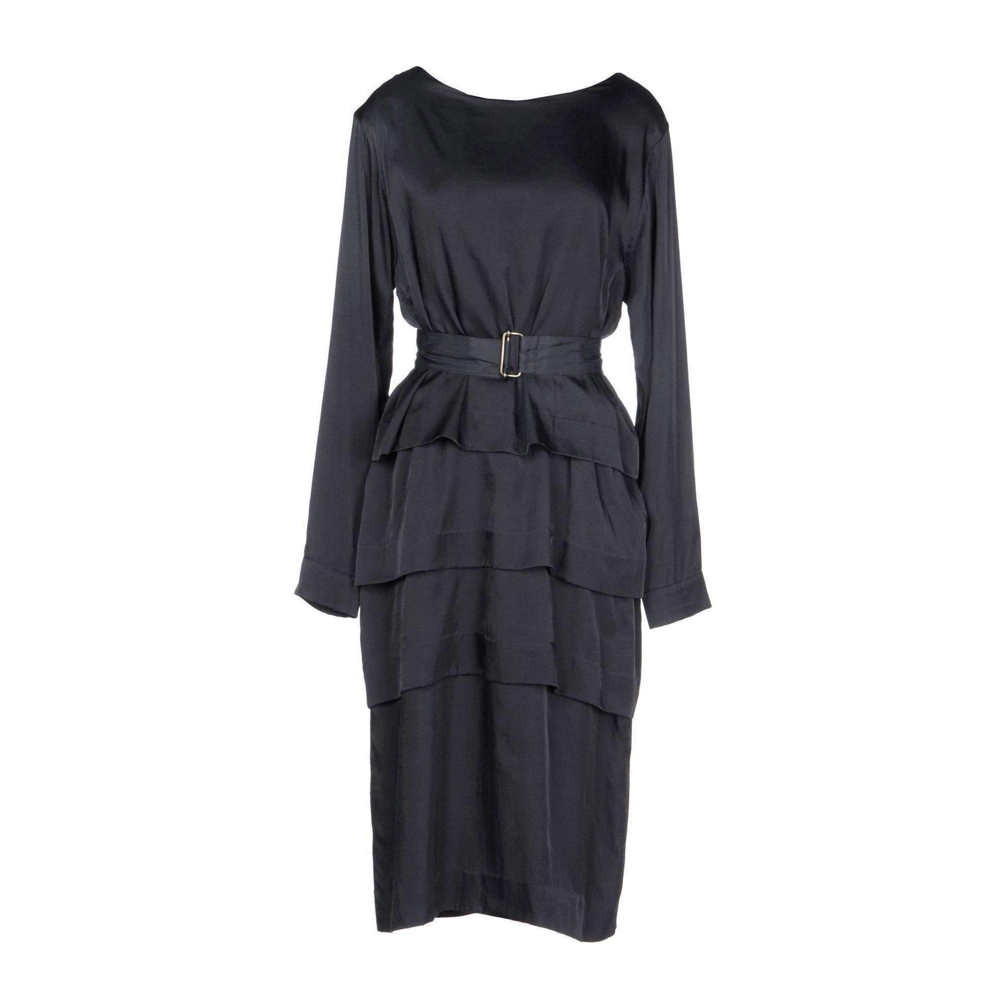 01d71bd3d2 Dries Van Noten Dole 5116 W.w.navy Layered Dress in Blue - Lyst