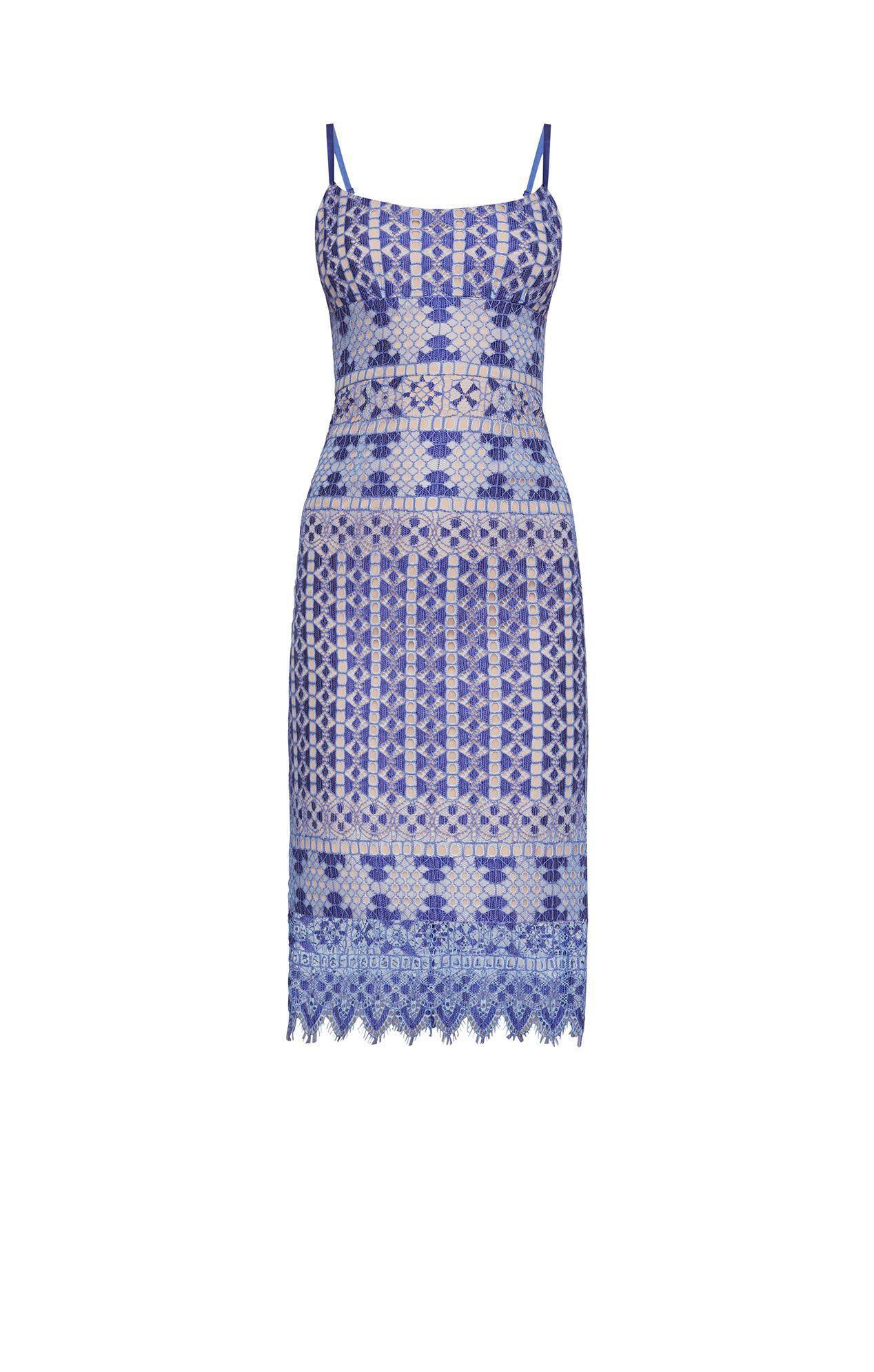 6c494263119 BCBGMAXAZRIA. Women s Alese Light Blue Asymmetrical Geometric Lace Dress  Xde61i99-e71.  295  251 From Runway Catalog