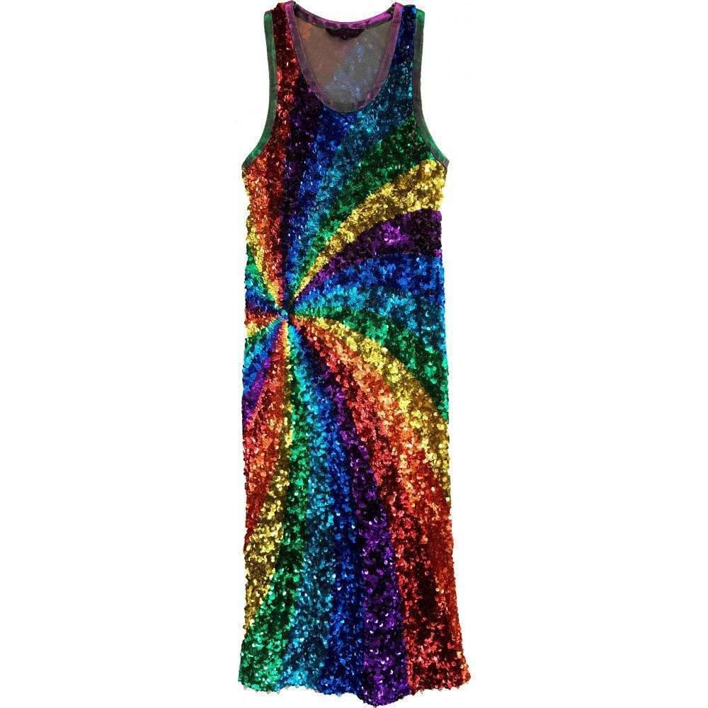 102389048c Manish Arora. Women s Runway Rainbow Sequin Dress