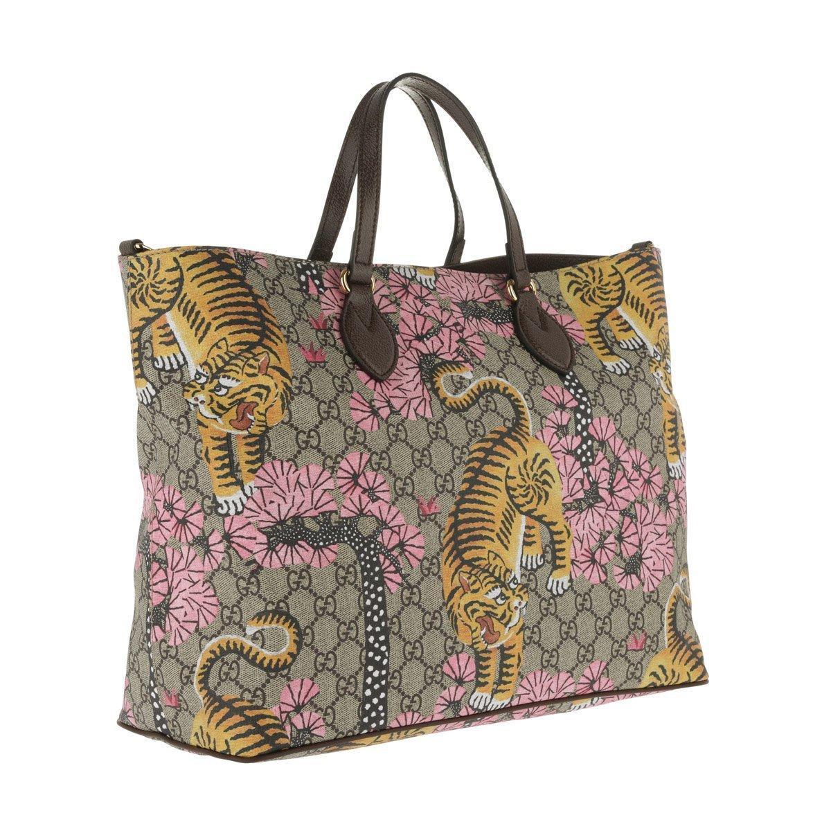 688e42bea8f0 Gucci - Multicolor Supreme Shopping Bag Bengal Ebony/brown - Lyst. View  fullscreen
