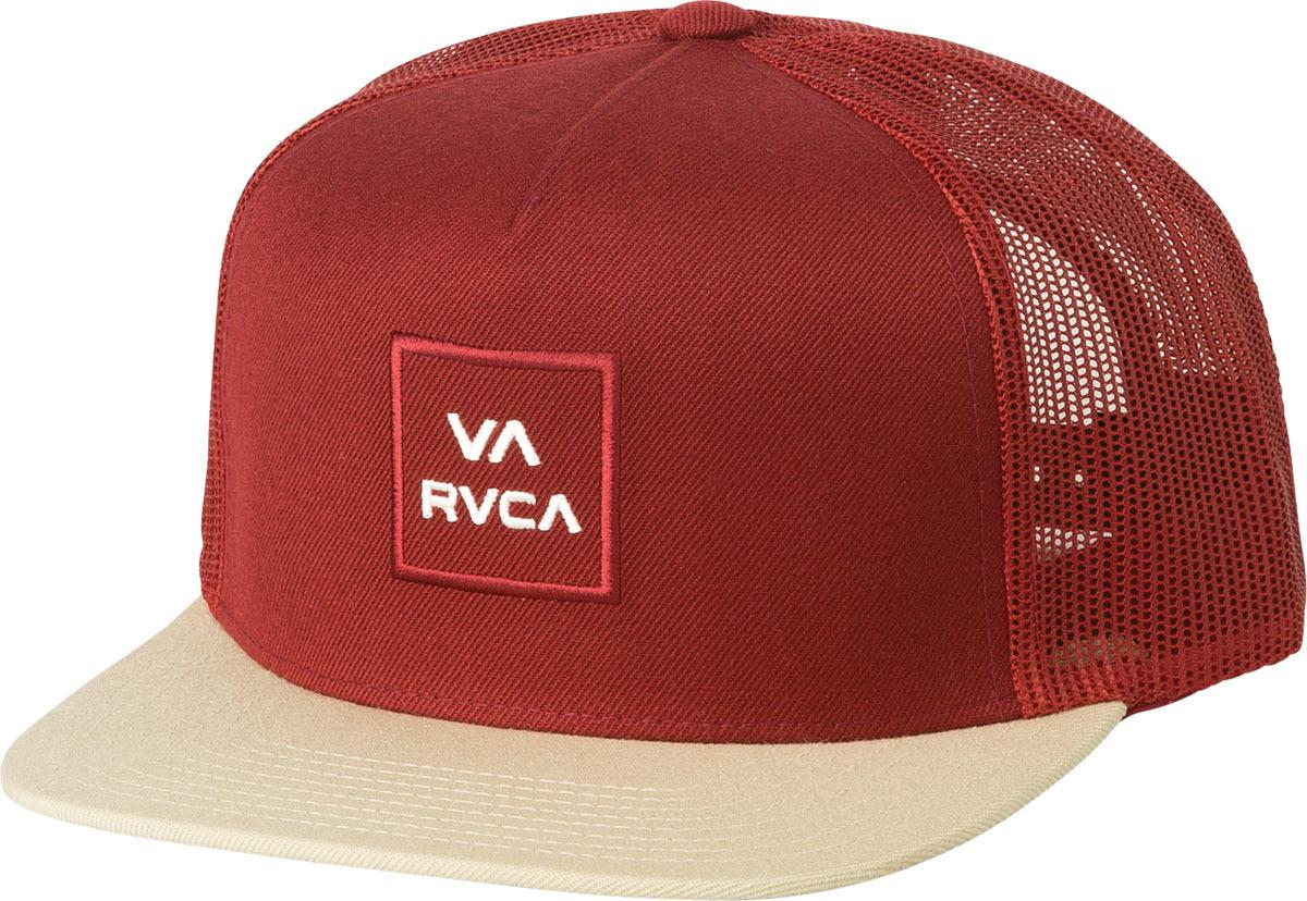 3b2ac1069995d Lyst - Rvca All The Way Trucker Hat in Red for Men