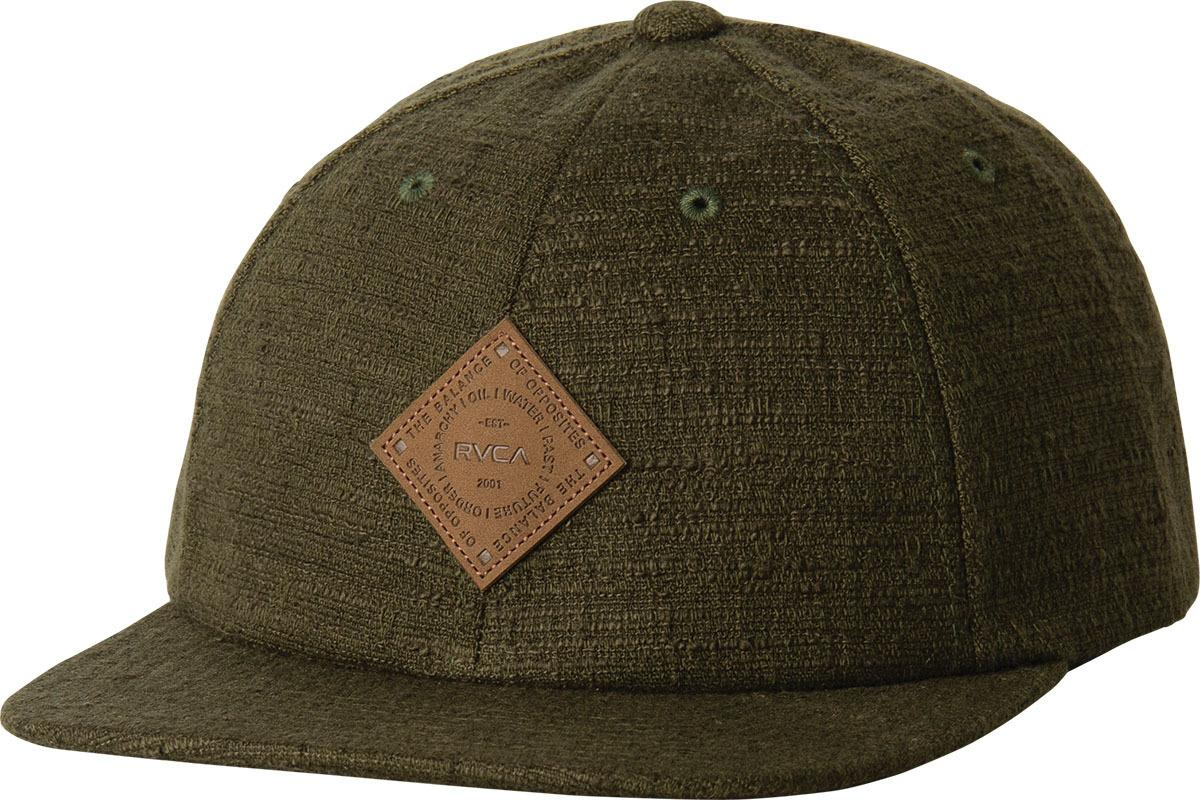 28f9282a01b Lyst - RVCA Shorditch Five Panel Hat in Green for Men