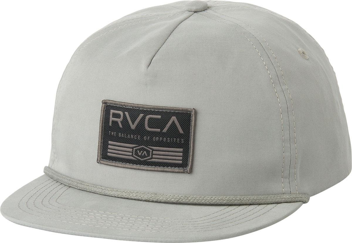 090618a1b RVCA Placement Hat in Gray for Men - Lyst