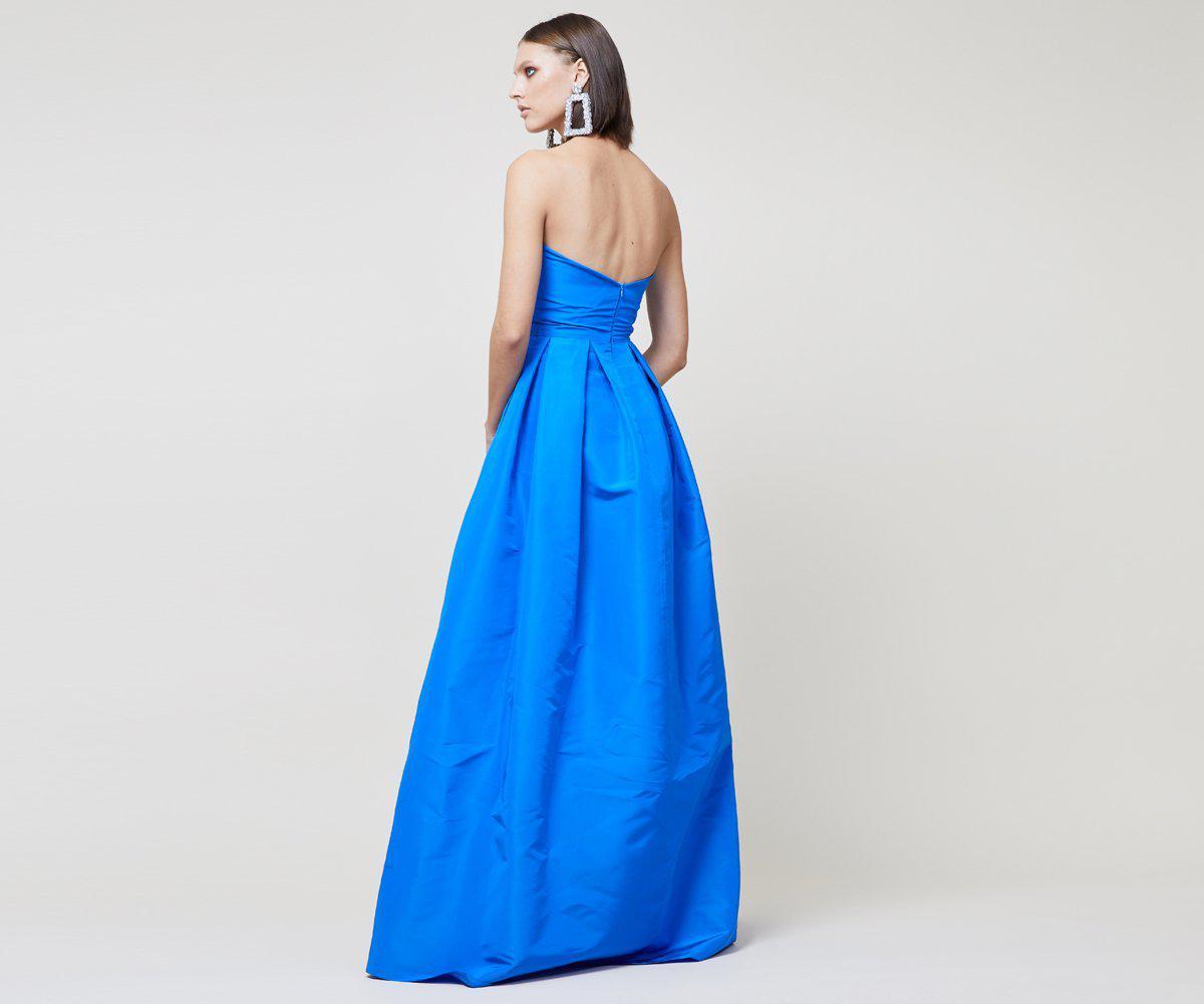 Sachin & Babi Silk Leora Gown in Blue