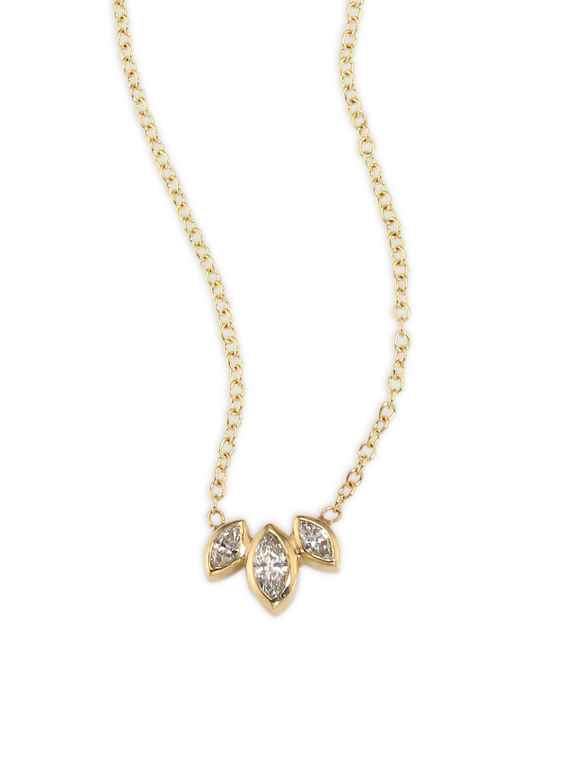 necklace marquis collections on mile miracle karat necklaces regent white cu n jewelers types diamond gold