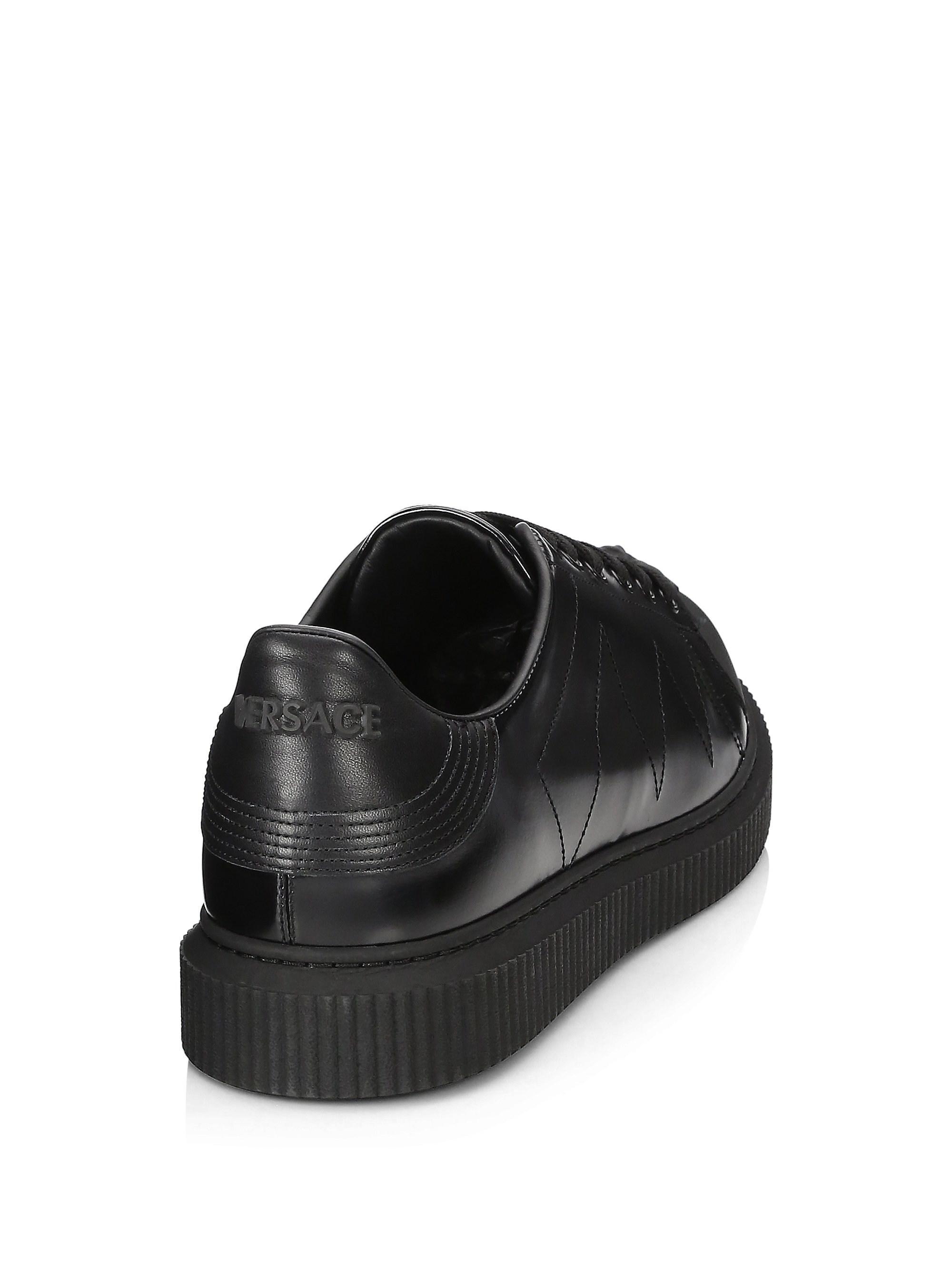 medusa leather nyx sneakers