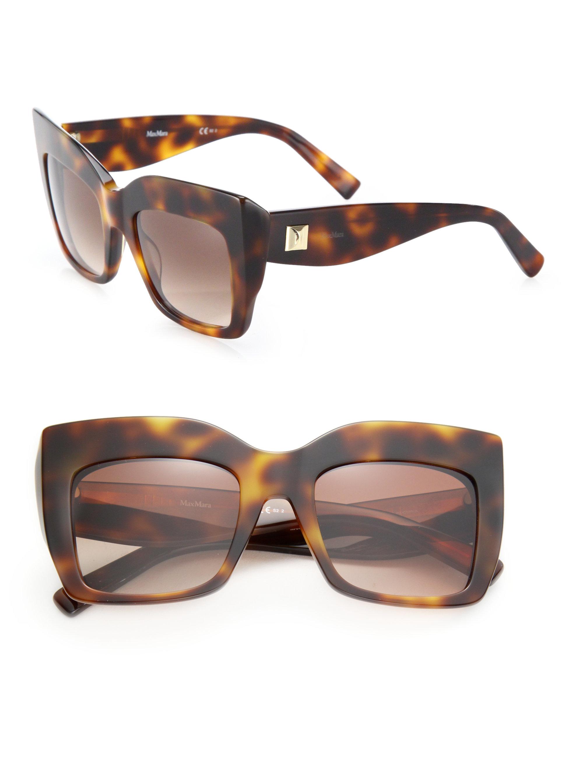 Max Mara Tortoiseshell sunglasses 8HgjFGe7