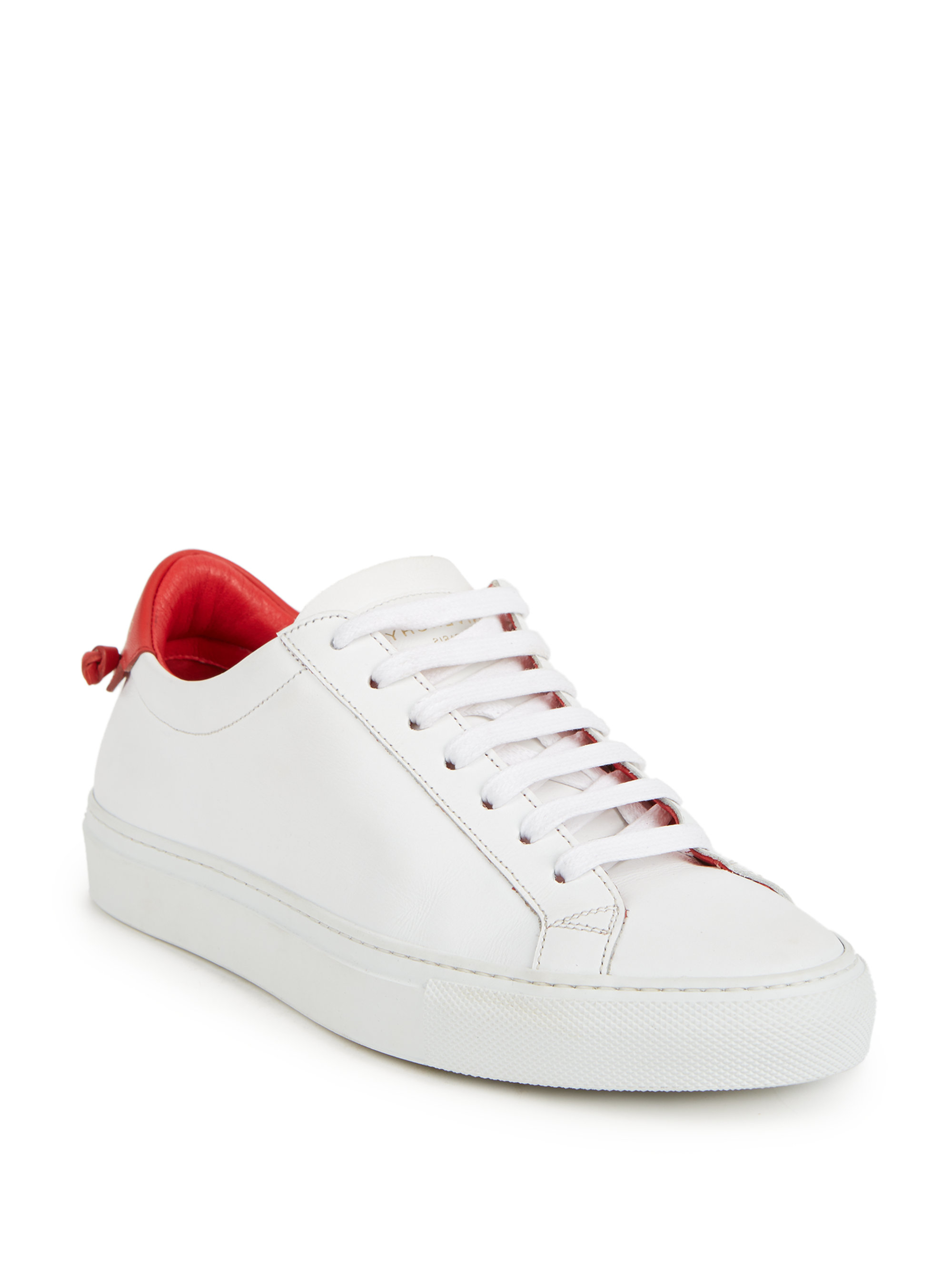 Givenchy White Urban Knots Sneakers In Pink Save 60 Lyst