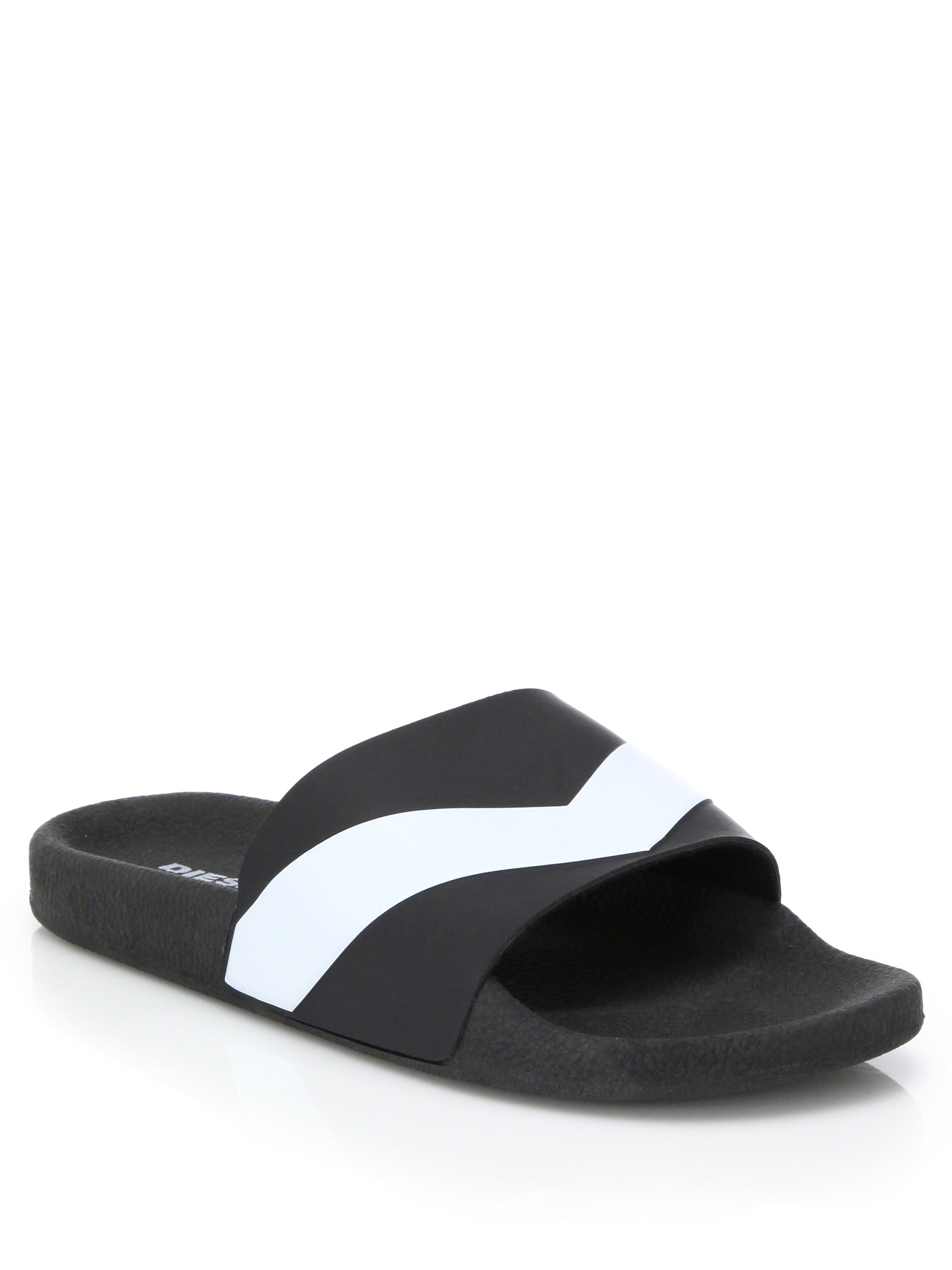 Diesel Aloha Slide Sandals TeamuNfGO