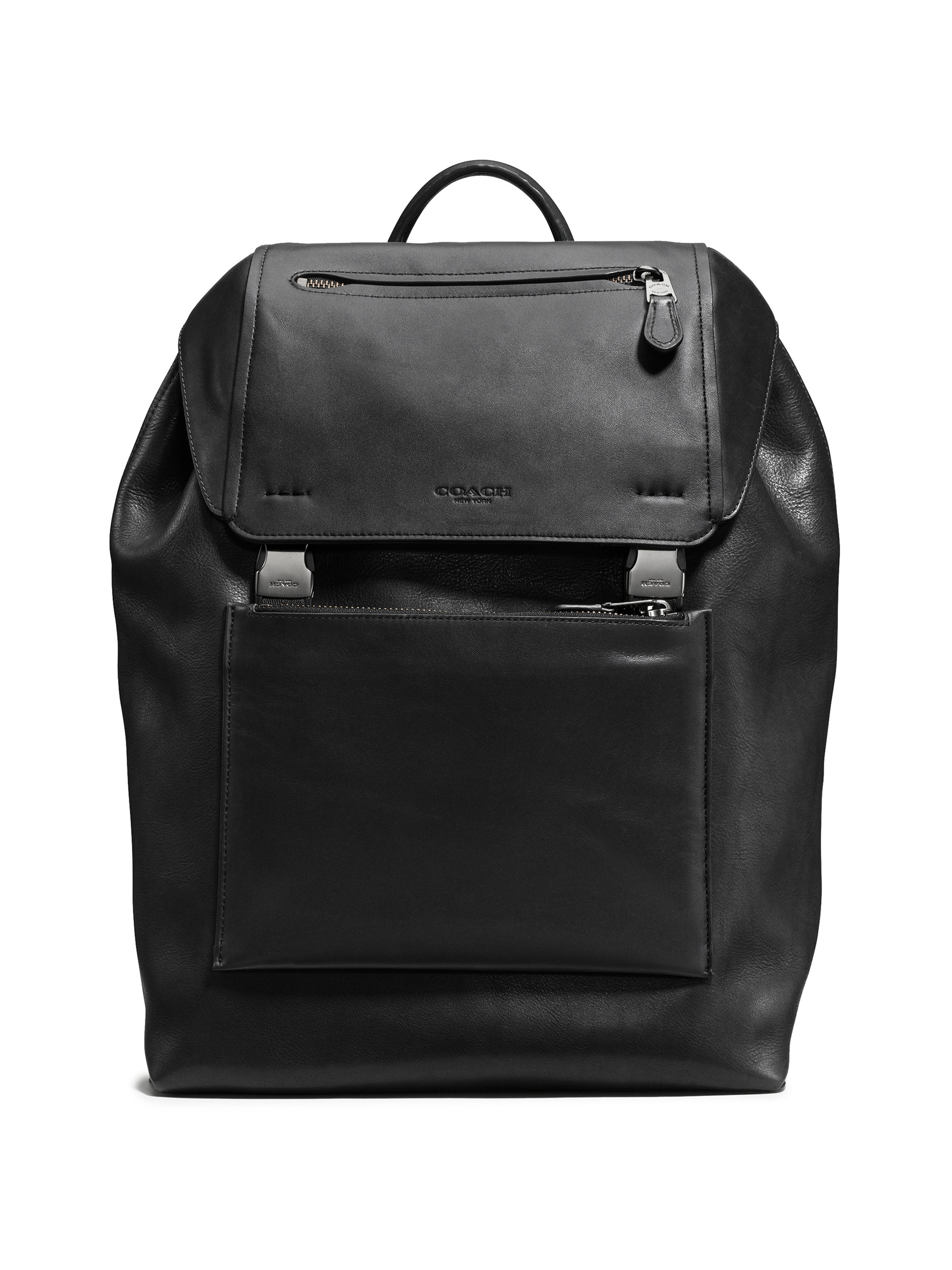 Coach Manhattan Backpack in Black for Men | Lyst