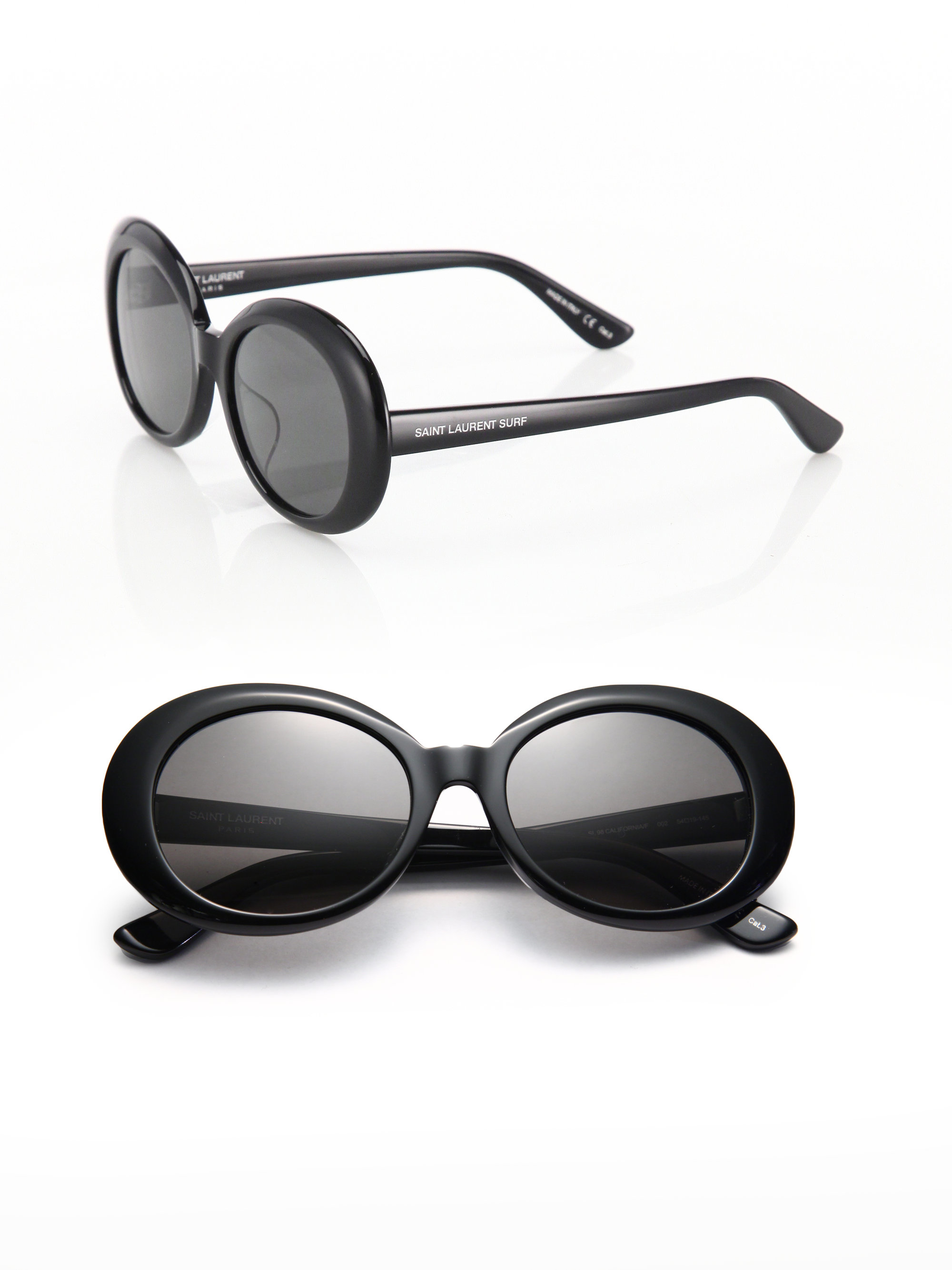Oversized Oval Sunglasses  saint lau sl 98 california 53mm oversized oval sunglasses in