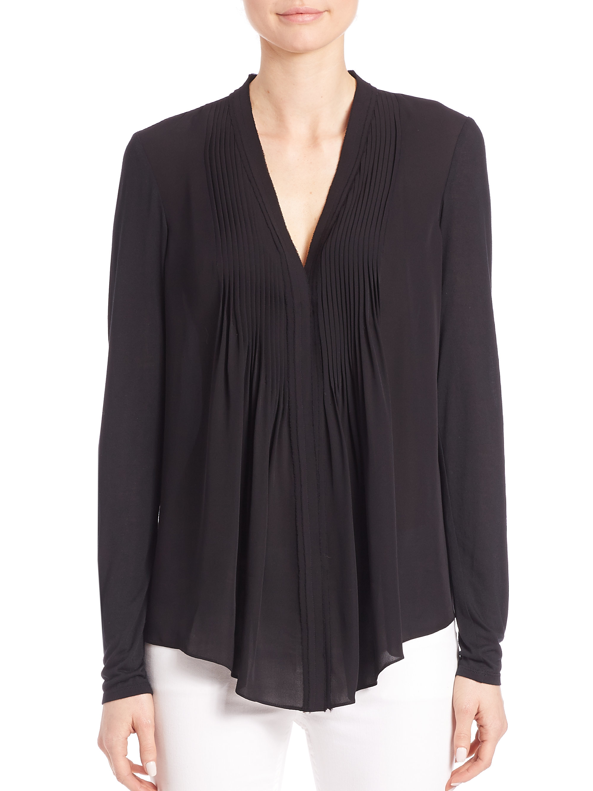 Front Pleated Blouse 15