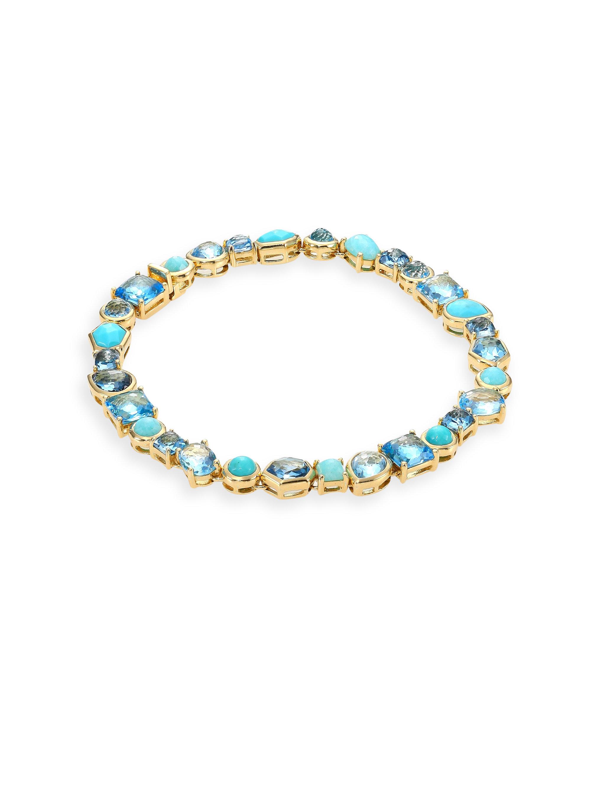 ippolita rock collection waterfall tennis bracelet
