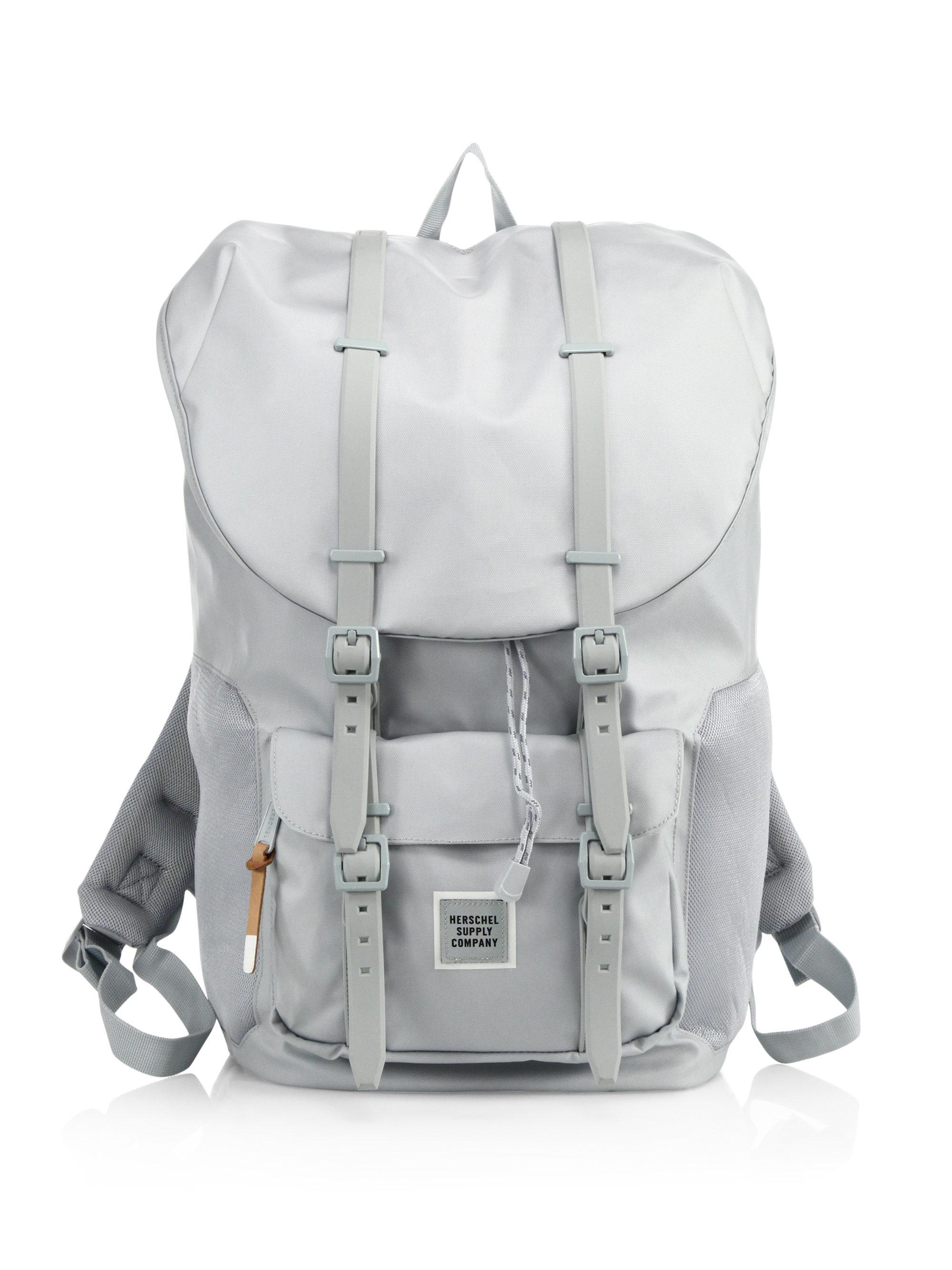 5f426c03412 Lyst - Herschel Supply Co. Studio Polycoat Little America Backpack ...