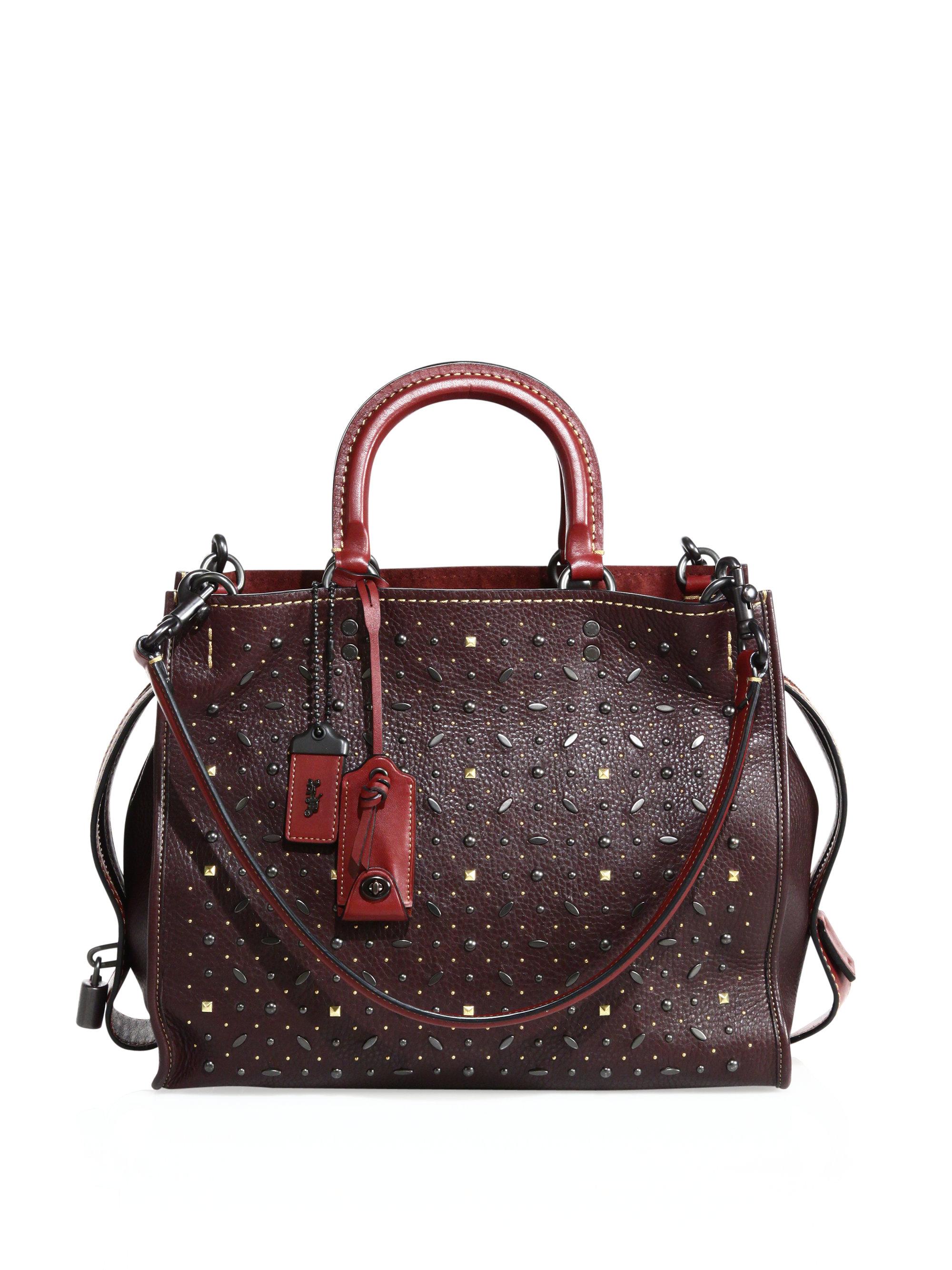 Gucci Riveted Shoulder Bag 106