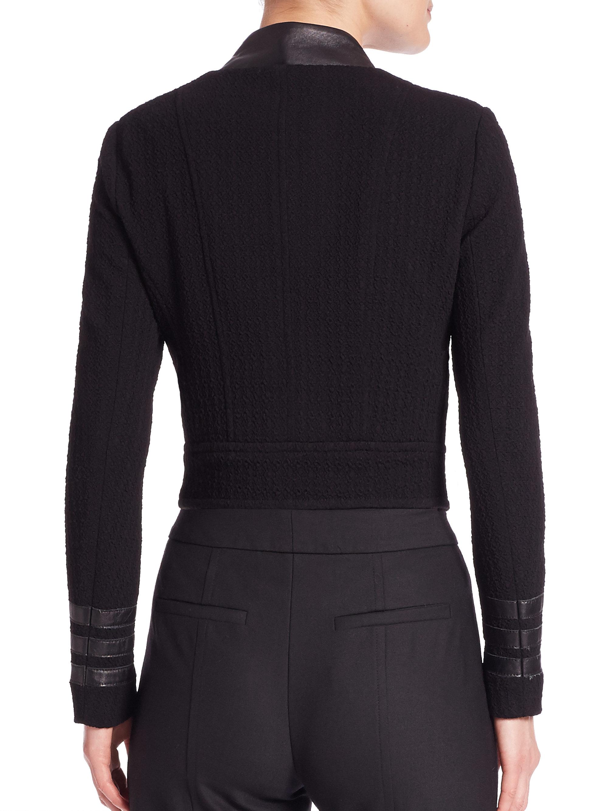 Nanette lepore leather jacket