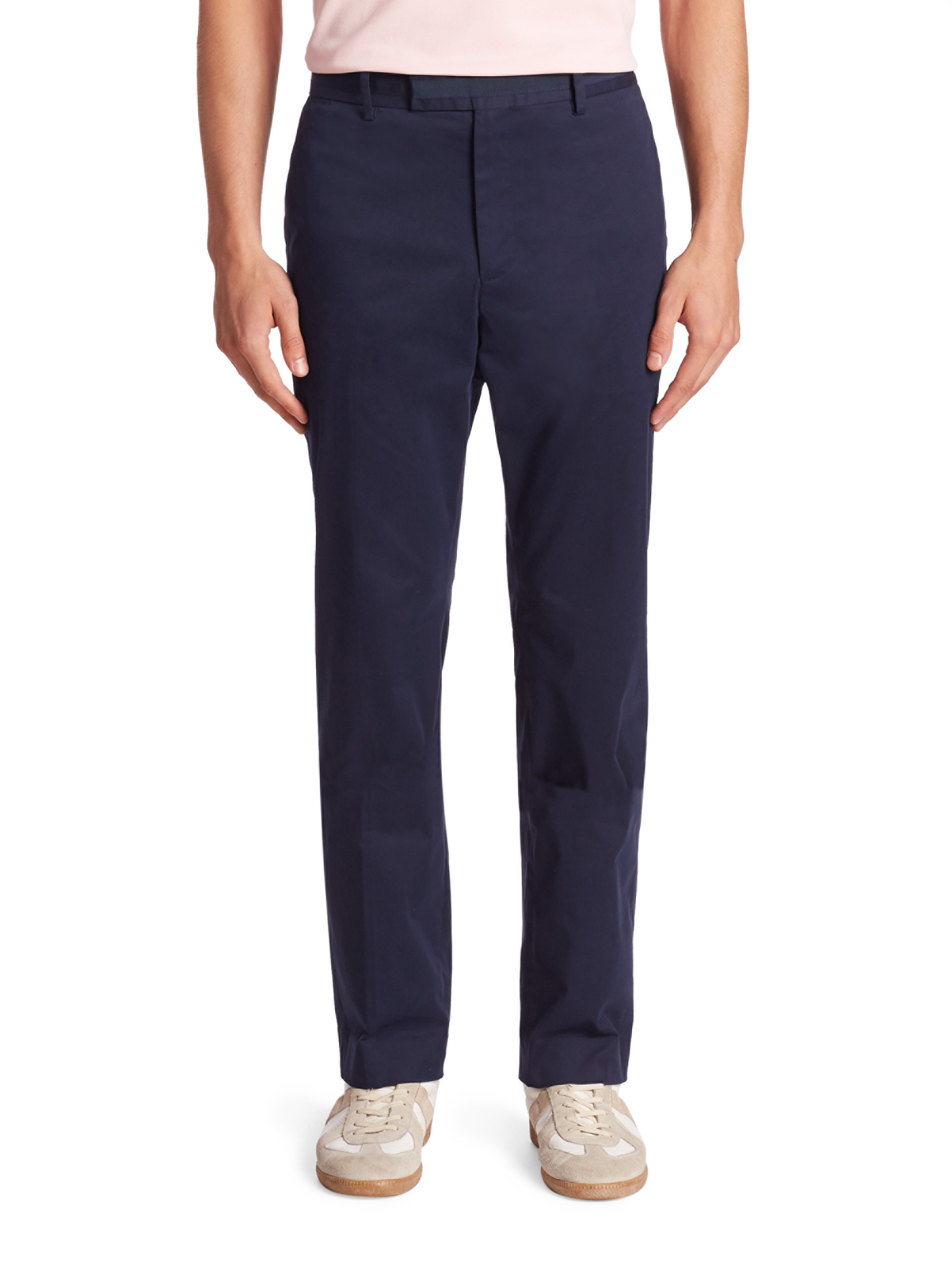 G/fore Contrast Waistband Pants in Blue for Men