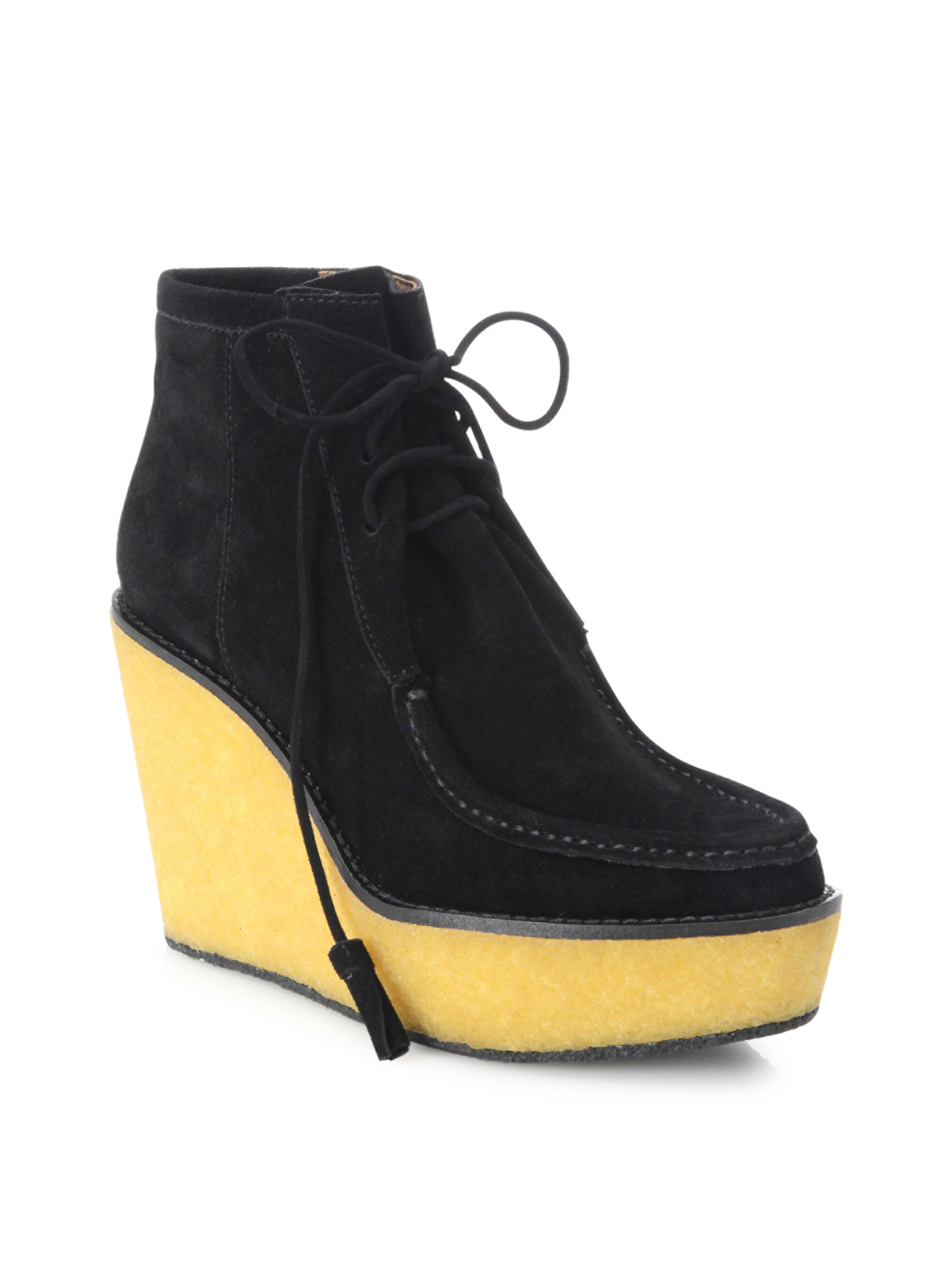 Derek Lam 10 Crosby Suede Round-Toe Booties discount latest discount find great original for sale clearance pictures cheap get authentic HxfEeB