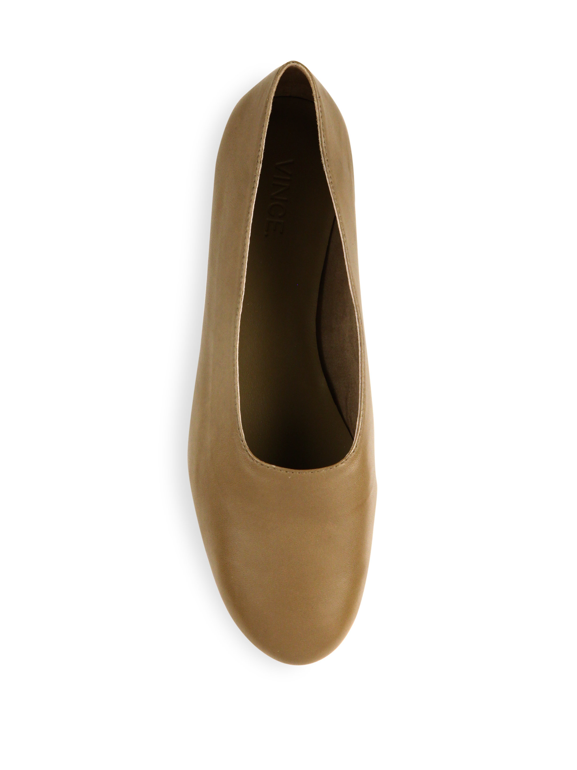 Lyst Vince Maxwell Leather Flats