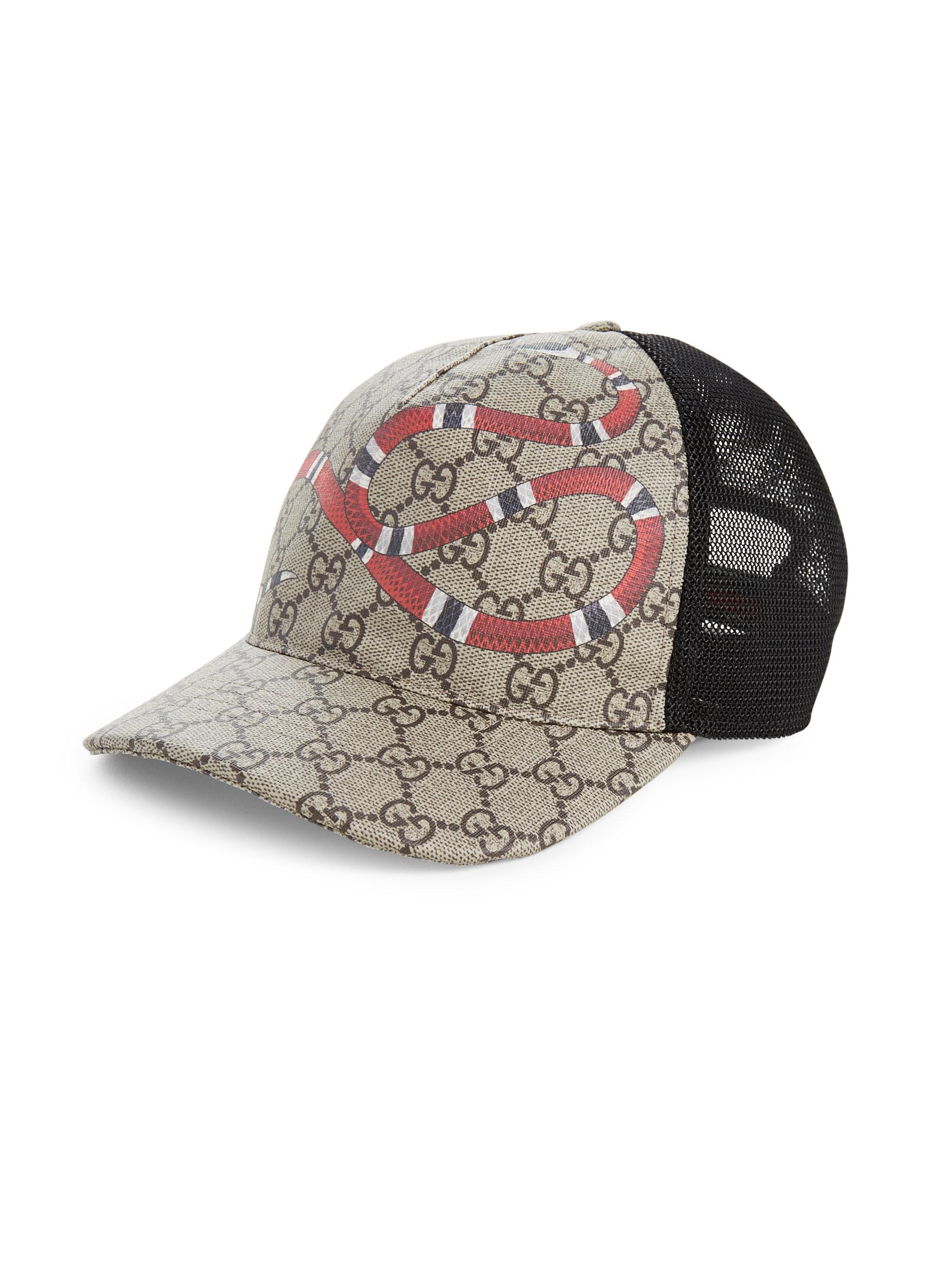 d2e25ea7811 Gucci Original GG Canvas Baseball Hat with Web Fashion Hat in
