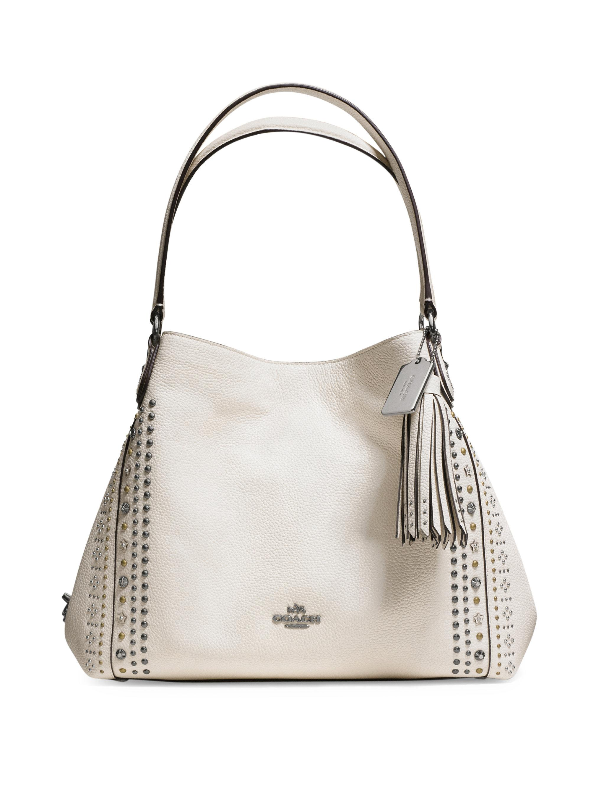 Coach Edie 31 Studded Leather Hobo Bag | Lyst
