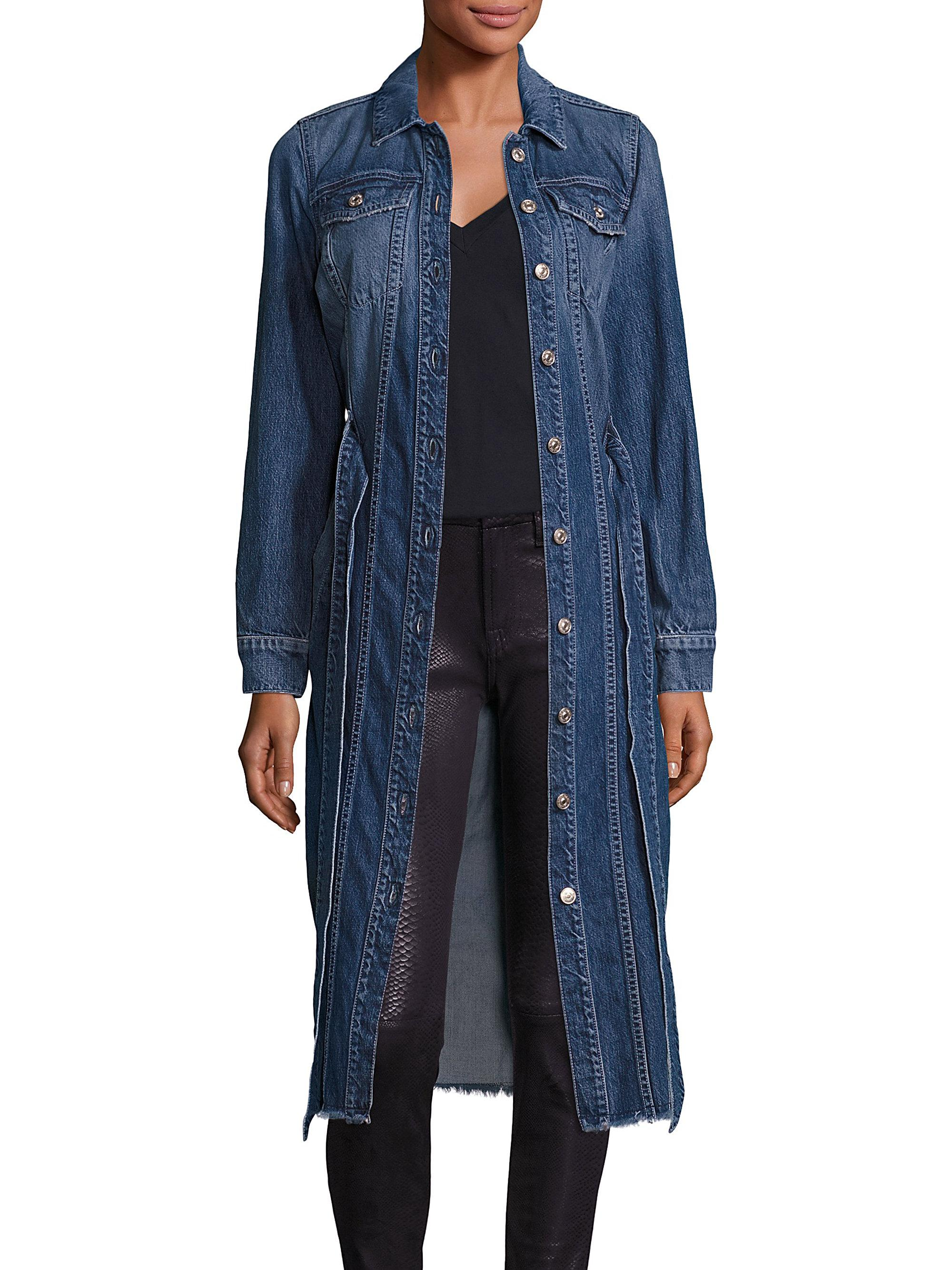 Womens Flap Pocket Jeans